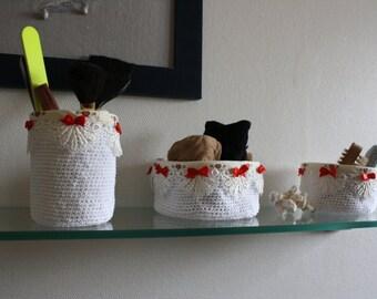 white trash crochet handmade