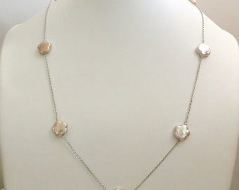 Pearletive Flora Necklace (フローラ・ペルライン・ネクレス)