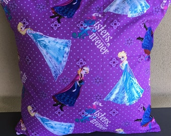 Frozen Sisters Forever Cushion Cover
