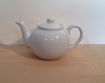 Vintage White teapot