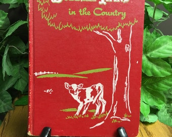 Vintage Book, The Bobbsey Twins in the Country, By Laura Lee Hope, Dated 1950