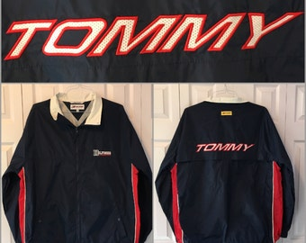 90s Tommy Hilfiger Windbreaker Jacket XL