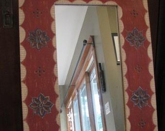 Designer Mirror, Eastlake motifs