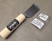 Kyoshin Elle Japanese Leathercraft Utility Skiver & Beveler Leather Knife