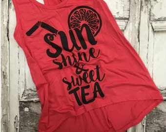 Youth Sun Shine & Sweet Tea Tank