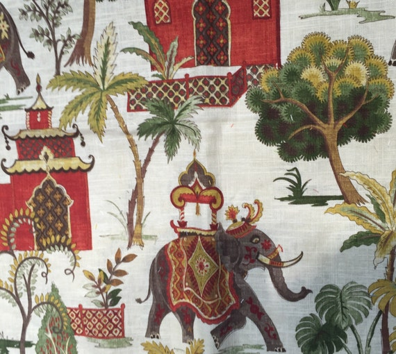 Elephant Fabric By The Yard