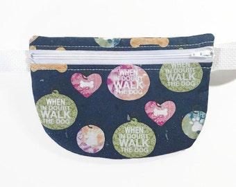 Dog Walking Bag - Dog Walking Belt - Festival Fanny Pack - Festival Belt - Festival Bag - Festival Money Belt - Festival Belt Bag