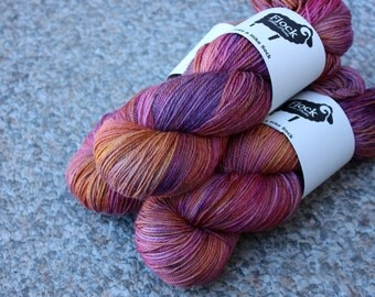 Take a Hike Sock Yarn - Alpenglow colourway