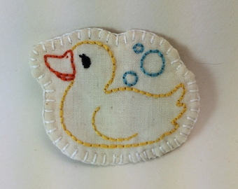Rubber Duckie Patch or Pin