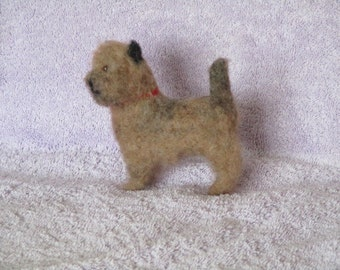 Needle Felted  RED   CAIRN TERRIER -
