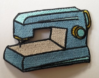 Sewing Machine Iron on Patch