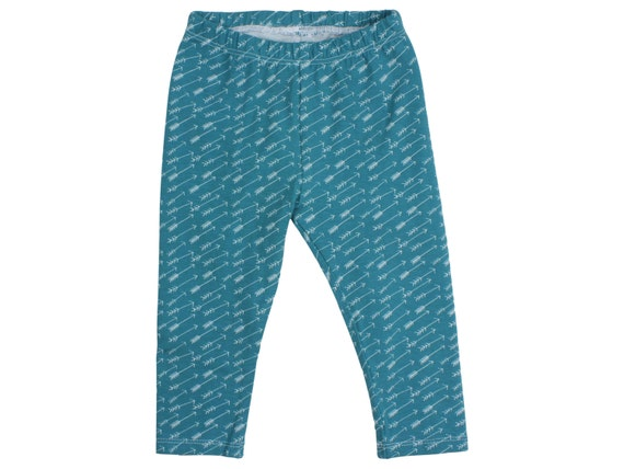 Teal Arrows Baby Leggings Arrow Toddler Leggings Girl Leggings Tribal Arrow Leggings Girl Baby Pants Baby Headband Arrows Baby Gift Teal