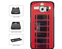 Detailed Europe Phonebooth - Samsung Galaxy s3 s4 s5 s6 s7 Edge Note 2 3 4 5 7