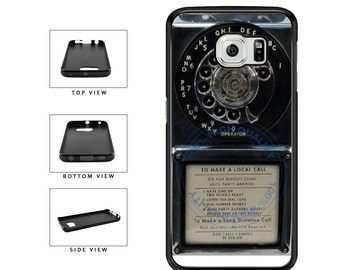 Detailed Rotary Phone - Samsung Galaxy s3 s4 s5 s6 s7 s8 Edge Note 2 3 4 5 7