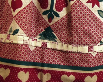 Girls' Cotton Elastic Waist Skirt
