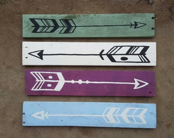 Bathroom Signs With Arrows 3 reclaimed wood arrow sign rustic salvaged arrows wood