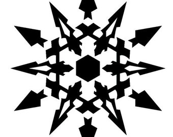 RWBY Weiss Symbol Decal Vinyl Logo