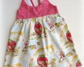 Size 2 Strawberry Shortcake Hummingbird Dress