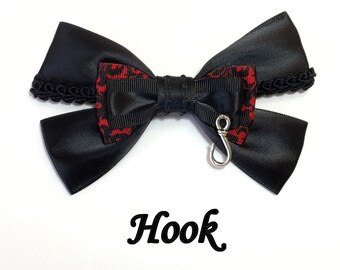 Captain Hook Hair Bow