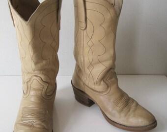 Cowboy Western Boots Shoes Size: 9.5 Women's VINTAGE Retro