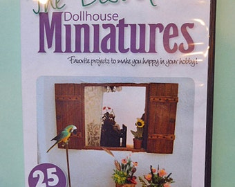 SALE.  The Best of Dollhouse Miniatures Project CD
