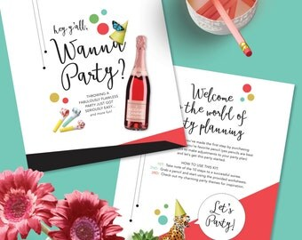 Wanna Party? Downloadable Party Planning Kit