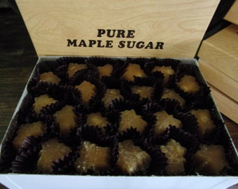 100% PURE New York State Maple Candies