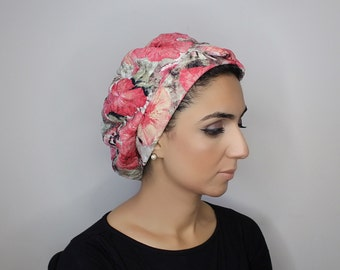 French Beret - Floral