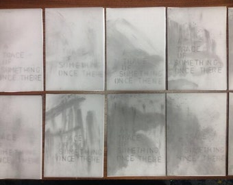 A Trace of Something HandMade ltd Pamphlet