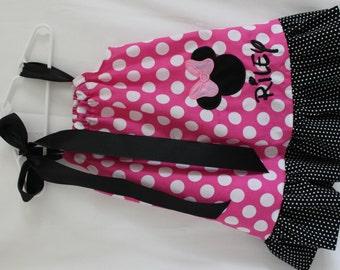 Minnie Mouse Disney Pillowcase Dress