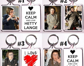 Linda Hunt Keychain Key Ring - Many Designs To Choose From