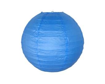"12"" Blue Paper Lantern RPL120039 Just Artifacts Brand - Paper Lanterns for Weddings, Parties, & Home Decor"