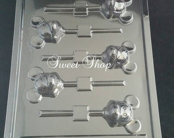 Mickey Mouse Chocolate Lollipop Mold