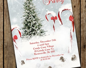 Christmas Party, Christmas invitations, Holiday Party, Holiday Invitations, invitaciones para Navidad, Christmas Cards, Party Invites