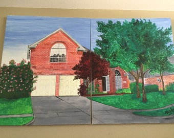 Acrylic House Painting