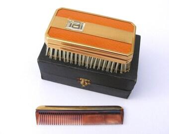 Vintage men's grooming set