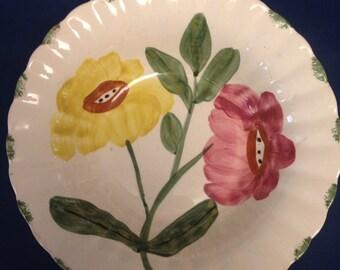 "Blue Ridge Pottery Bowl -  ""Beth"" Pattern"