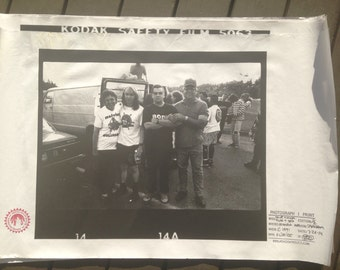 Melvins * Buzz & Dale with parents * Olympia Wa. * circa 1991 * Poster Print * 1 of 2 * by KRK Dominguez