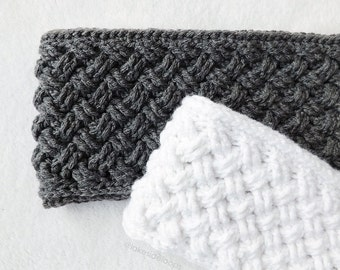 Crochet Pattern - Bentley Crochet Head Warmer by Lakeside Loops (includes Baby, Toddler, Child, Teen & Adult sizes)