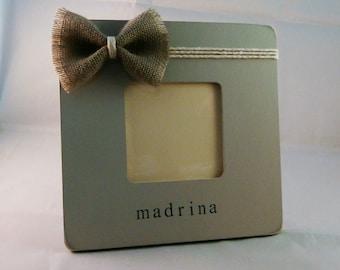 Madrina gift frame, padrino gift spanish gifts padrinos