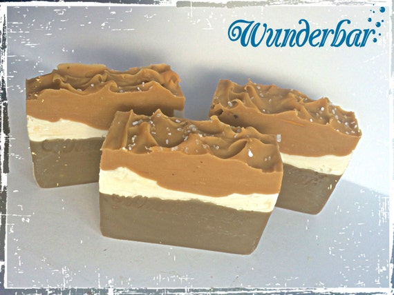 Salted Caramel and Hazelnut Soap