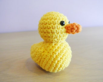 Amigurumi Duck Tutorial : Crochet duckling etsy