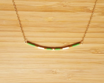 Ola green necklace