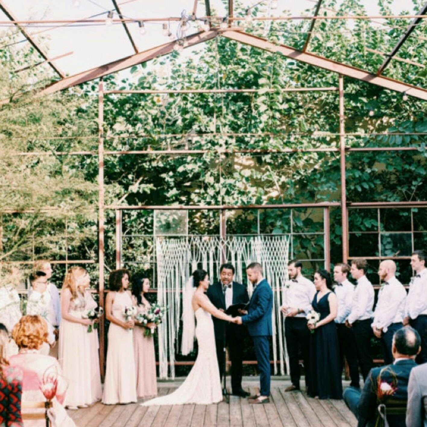 Macramae Ideas Wedding Arch: Boho Wedding Arch For Altar Or Home Decor. Unique Macrame