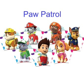 28 Paw Patrol Cupcake wrappers