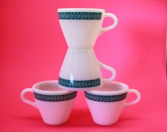 Corning/Pyrex Bluegrass Cups