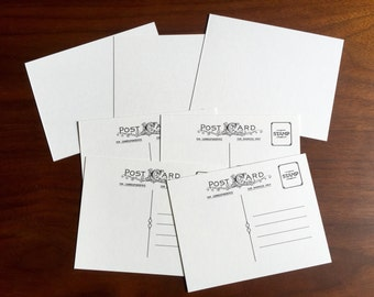 Bulk Blank Postcards blank front perfect for stamping coloring and watercolors blank post cards diy supply