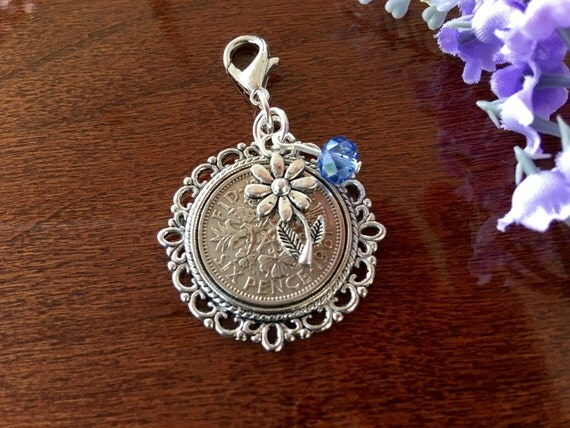 Lucky Wedding Gifts: Lucky Sixpence Womens Birthday Gift Idea Bridal Shower Gift