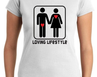 T-shirt Female T0001 LOVE