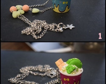"Necklace ""Ice Pot"""